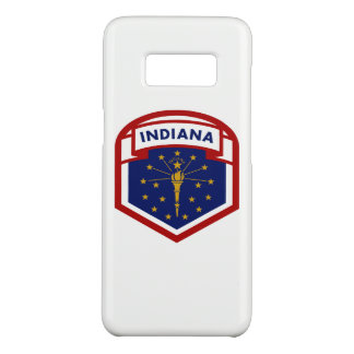 Indiana State Flag Coat Of Arms Style Case-Mate Samsung Galaxy S8 Case
