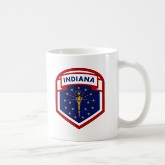 Indiana State Flag Coffee Mug