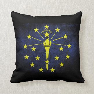 Indiana state flag cushion