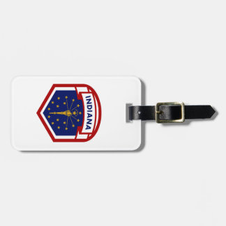 Indiana State Flag Luggage Tag