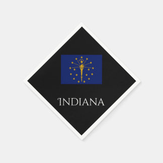 Indiana State Flag Paper Napkins by Janz