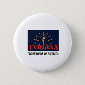Indiana torch 6 cm round badge