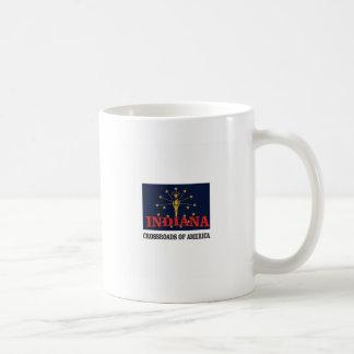 Indiana torch coffee mug