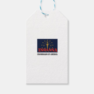 Indiana torch gift tags