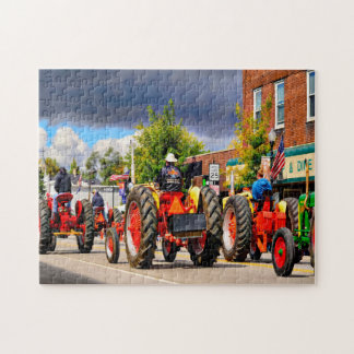 Indiana Tractor Parade. Jigsaw Puzzle