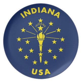 Indiana USA Plate