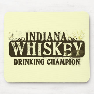 Indiana Whiskey Drinking Champion Mouse Mats