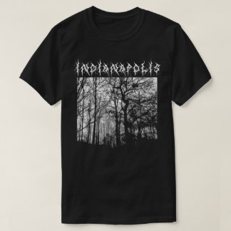 Indianapolis Black Metal T-shirt Metalshirt