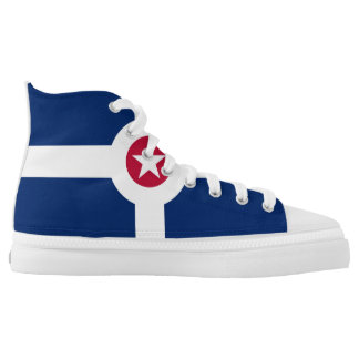 indianapolis city flag america symbol usa high tops