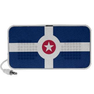 indianapolis city flag united states america usa laptop speaker