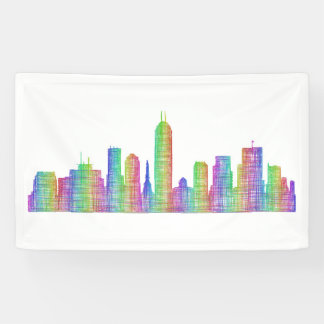 Indianapolis city skyline banner