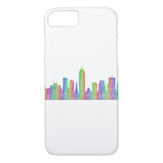 Indianapolis city skyline iPhone 8/7 case