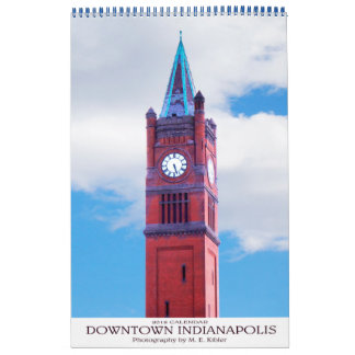 Indianapolis Downtown 2018 Calendar