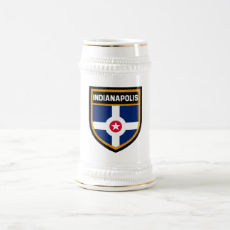 Indianapolis Flag Beer Stein