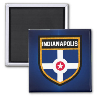 Indianapolis Flag Magnet