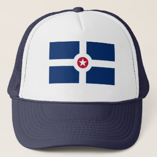 Indianapolis Flag Trucker Hat