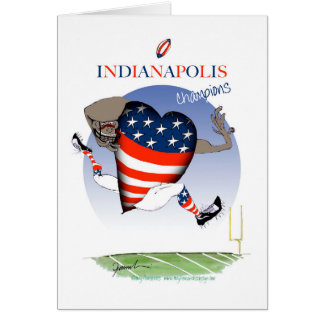 indianapolis football champs, tony fernandes card