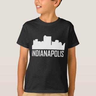 Indianapolis Indiana City Skyline T-Shirt