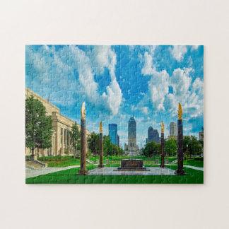 Indianapolis Indiana. Jigsaw Puzzle