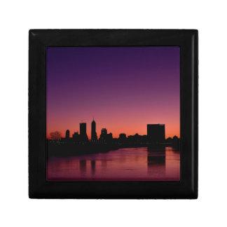 Indianapolis Indiana Skyline Gift Box