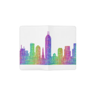 Indianapolis skyline pocket moleskine notebook