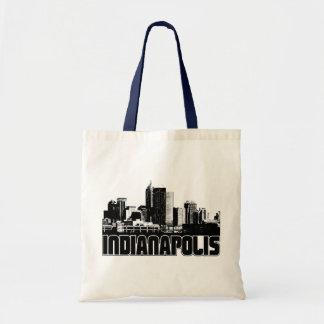 Indianapolis Skyline Tote Bag