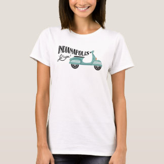 Indianapolis T-shirt - Moped Scooter