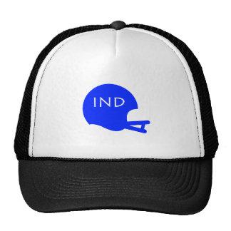 Indianapolis Vintage Football Helmet Mesh Hats