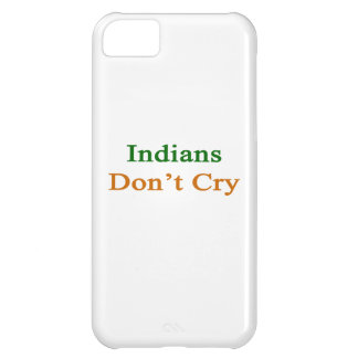 Indians Don t Cry iPhone 5C Cover
