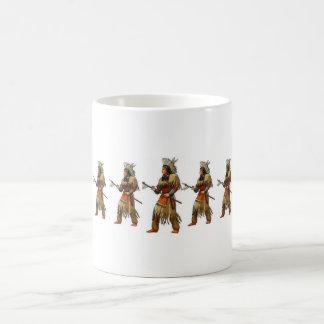 indians basic white mug