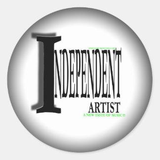 indie artist sticker