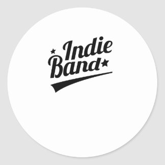 Indie Band Logo Stickers