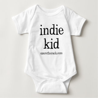 Indie Kid With Snaps Baby Bodysuit