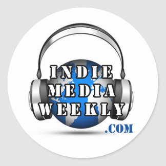 Indie Media Weekly Round Logo Sticker