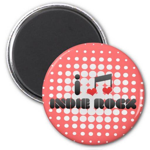 Indie Rock fan Refrigerator Magnet