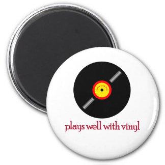 Indie Rock Kid Back 6 Cm Round Magnet