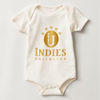 Indies Unlimited 5-Star Logo Baby Bodysuit