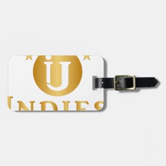 Indies Unlimited 5-Star Logo Luggage Tag