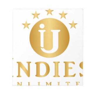 Indies Unlimited 5-Star Logo Notepad