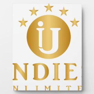 Indies Unlimited 5-Star Logo Plaque
