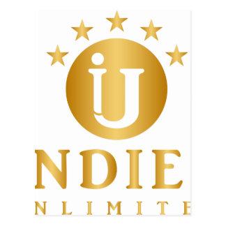 Indies Unlimited 5-Star Logo Postcard