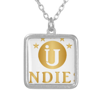 Indies Unlimited 5-Star Logo Silver Plated Necklace