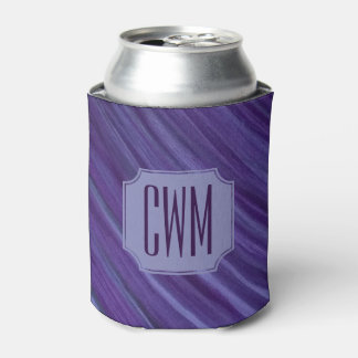 Indifferent Bar | Monogram Lilac Violet Purple | Can Cooler