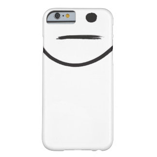 Indifferent Phone Bot Barely There iPhone 6 Case