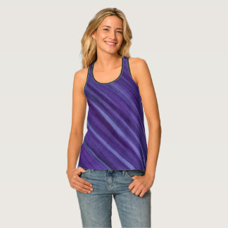 Indifferent Style | Purple Violet Lilac Lavender Singlet