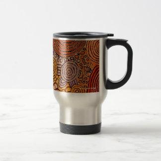 Indigenous Art, Artist: Walangkura Napangka Travel Mug