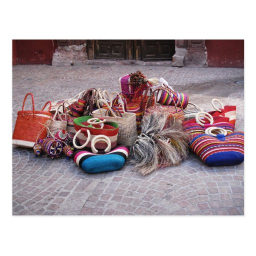 Indigenous Baskets Post Cards