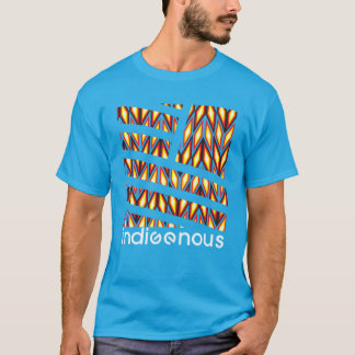 Indigenous Diamond Turquoise T-Shirt