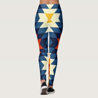 Indigenous Hieroglyphics Leggings