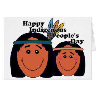 Indigenous People s Day Card